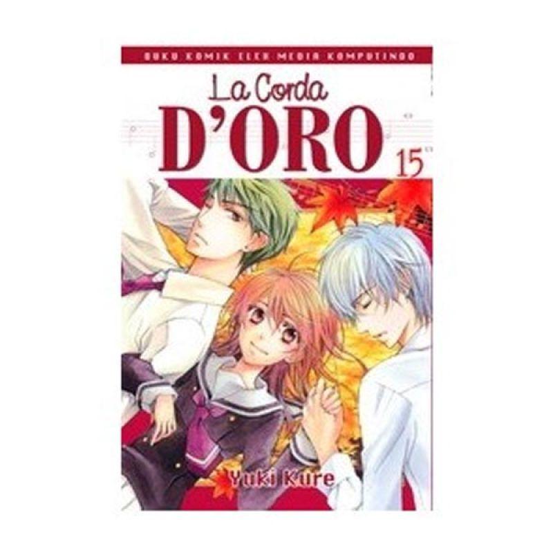 Grazera La Corda D'Oro Vol 15 by Yuki Kure Buku Komik