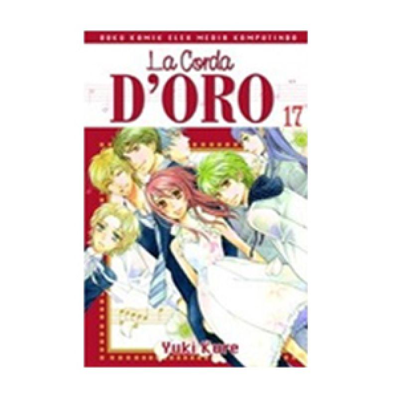 Grazera La Corda D'Oro Vol 17 by Yuki Kure Buku Komik