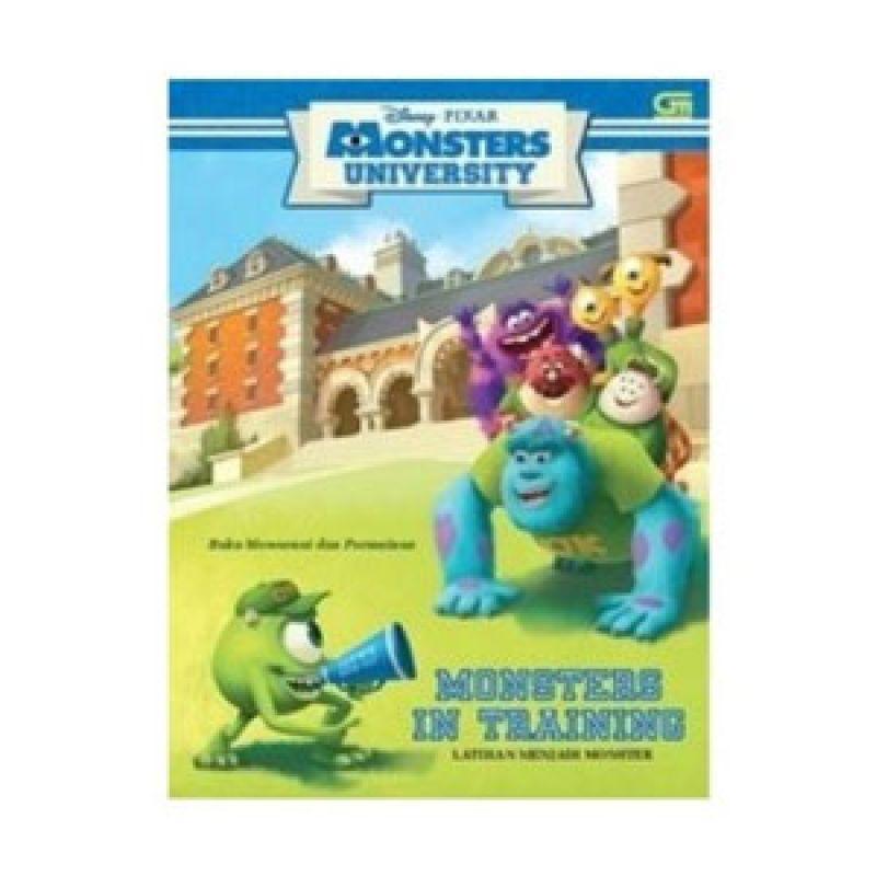 Grazera Latihan Menjadi Monster by Disney Pixar Buku Fiksi