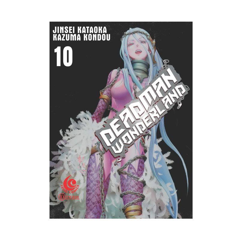 Grazera LC Deadman Wonderland Vol. 10 By Jinsei Kataoka dan Kazuma Kondou Buku Komik