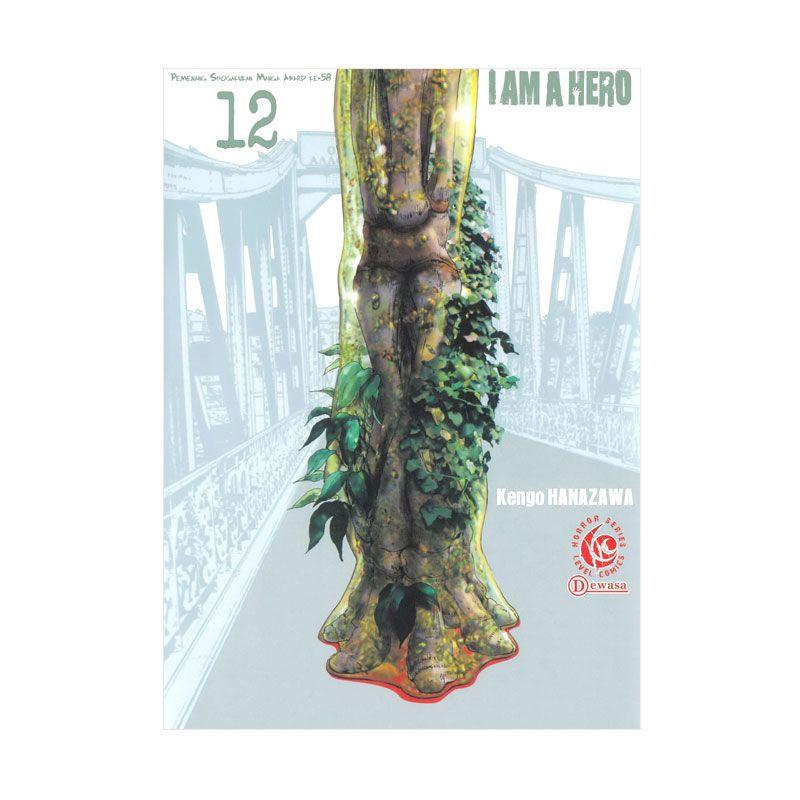 Grazera Lc I Am A Hero Vol 12 by Kengo Hanazawa Buku Komik