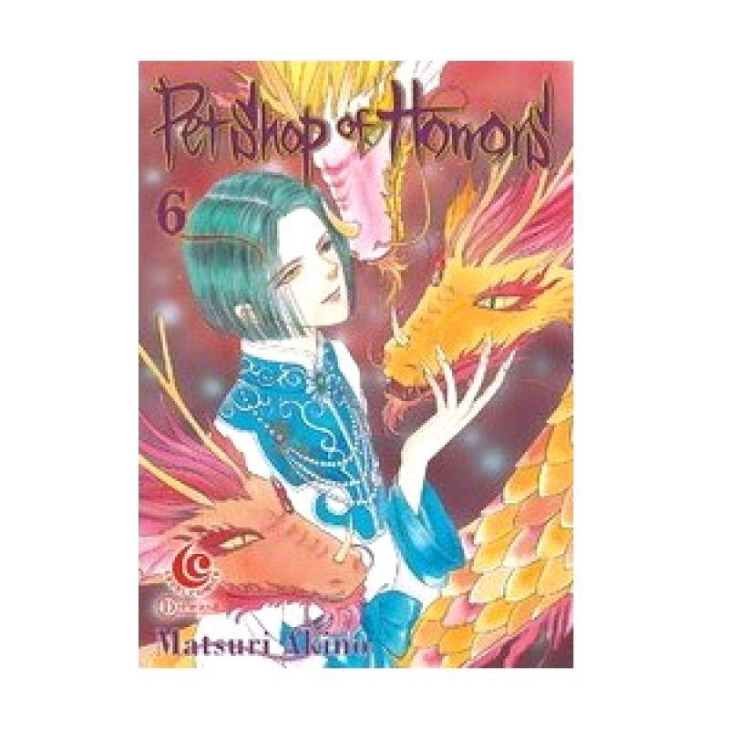 Grazera LC Pet Shop of Horrors Vol 06 by Matsuri Akino Buku Komik