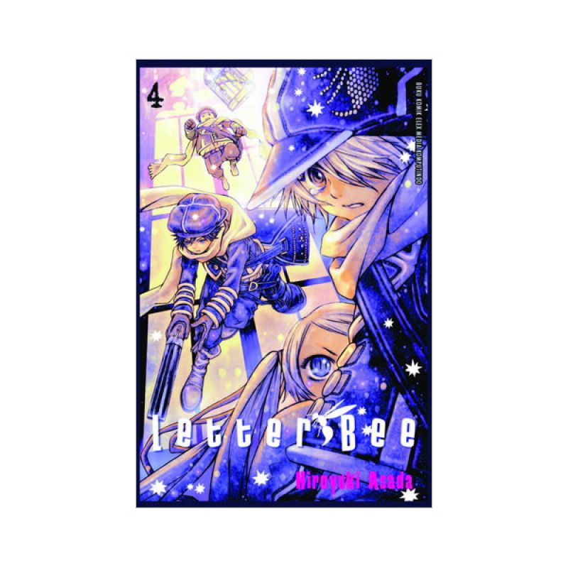 Grazera Letter Bee Vol 04 by Hiroyuki Asada Buku Komik