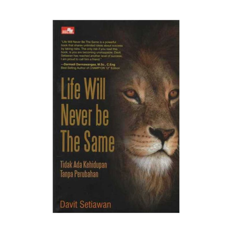Grazera Life Will Never Be The Same by Davit Setiawan Buku Pengembangan Diri