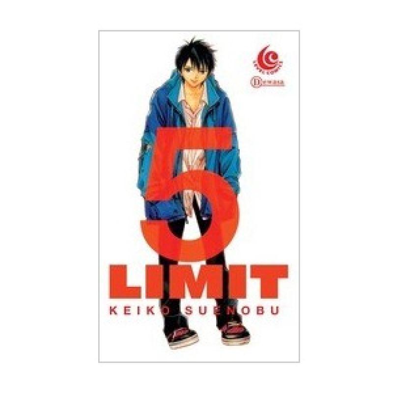 Grazera Limit Vol 05 by Keiko Suenobu Buku Komik