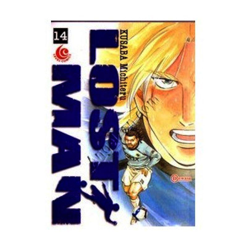 Grazera Lost Man Vol 14 by Kusaba Michiteru Buku Komik