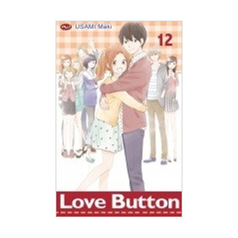 Grazera Love Button Vol 12 by Usami Maki Buku Komik