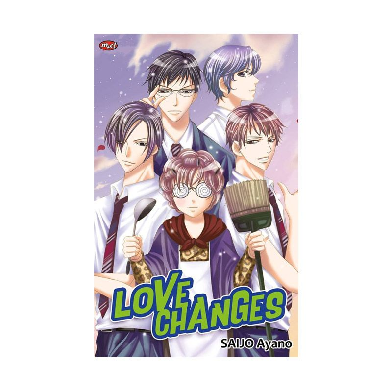 Grazera Love Changes By Saijo Ayano Buku Komik