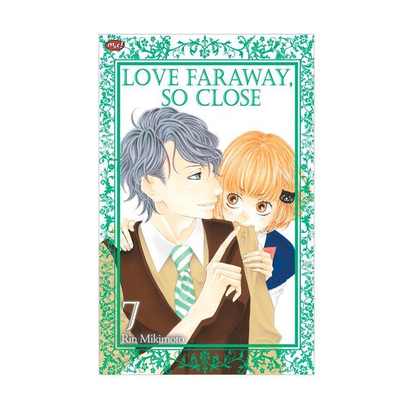 Grazera Love Faraway So Close Vol. 07 By Rin Mikimoto Buku Komik