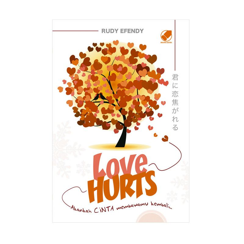 Grazera LOVE HURTS By Rudy Efendy Buku Fiksi