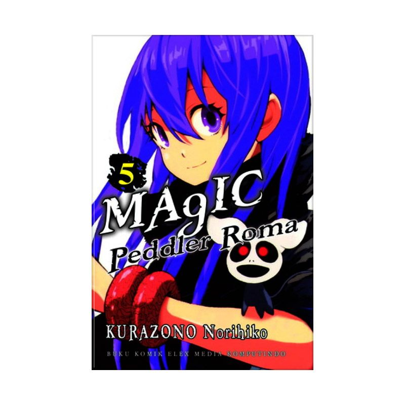 Grazera Magic Peddler Roma Vol 05 by Kurazono Norihiko Buku Komik