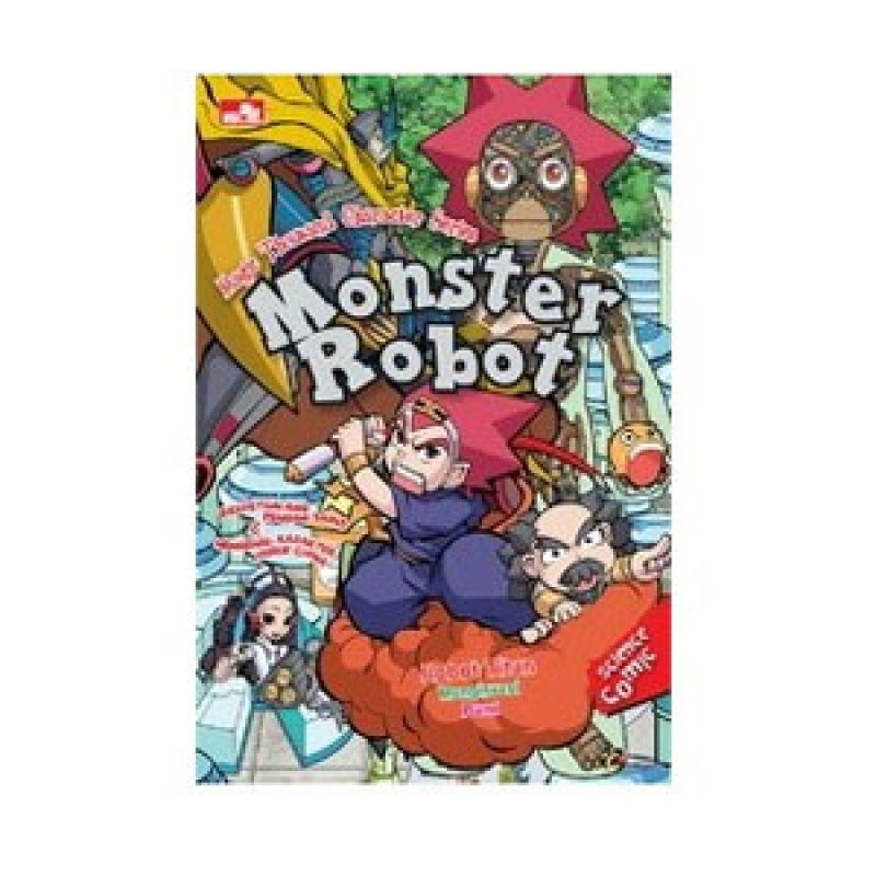 Grazera Magical Chinesse Character Series: Monster Robot by Son Yeong Un Buku Fiksi