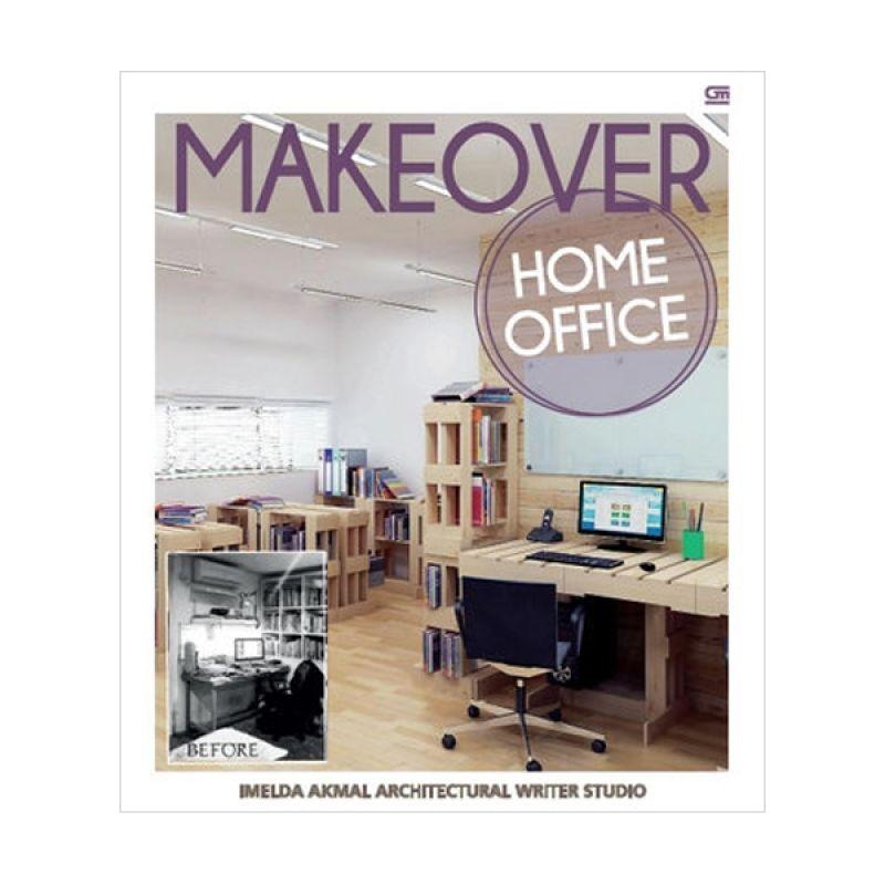 Grazera Makeover Home Office by Imelda Akmal Architectural Writer Studio Buku Arsitektur