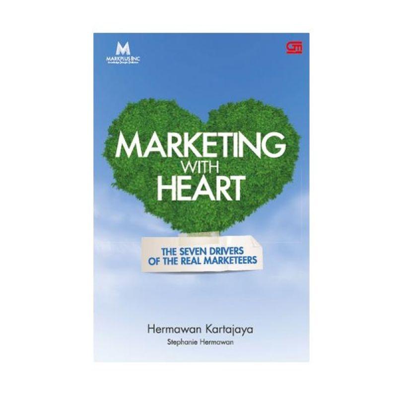 Grazera Marketing with Heart Hermawan Kartajaya Buku Ekonomi & Bisnis