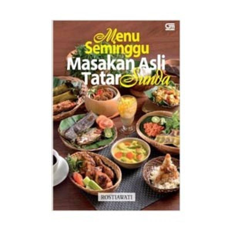 Grazera Masakan Asli Tatar Sunda by Rostiawati Buku Resep Masakan