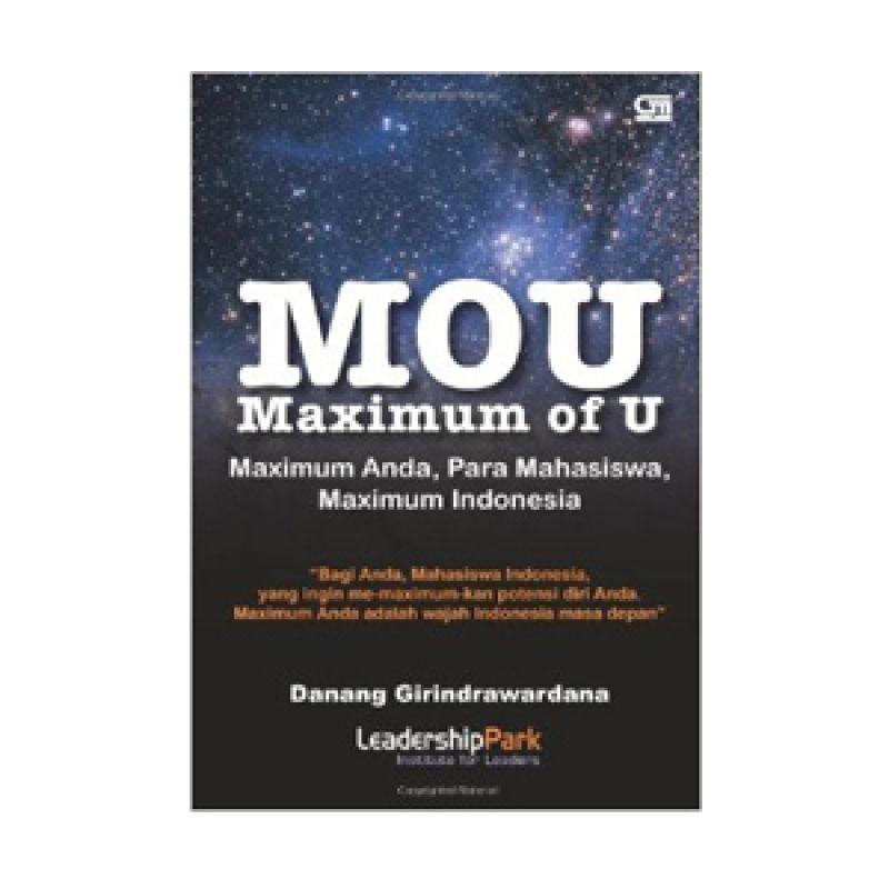 Grazera Maximum of U by Danang Girindrawardana Buku Motivasi