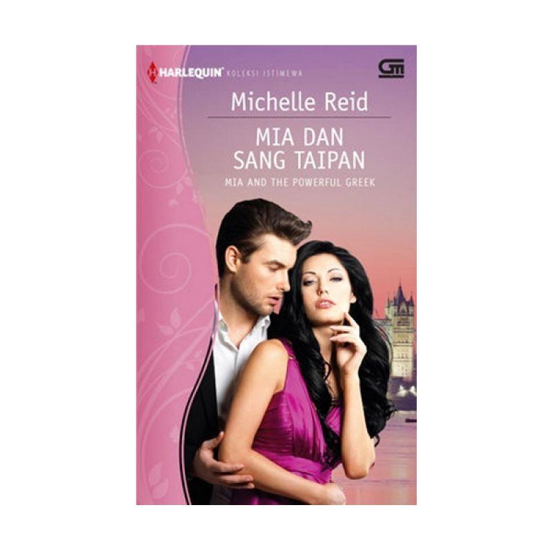Grazera Mia dan Sang Taipan by Michelle Reid Buku Fiksi