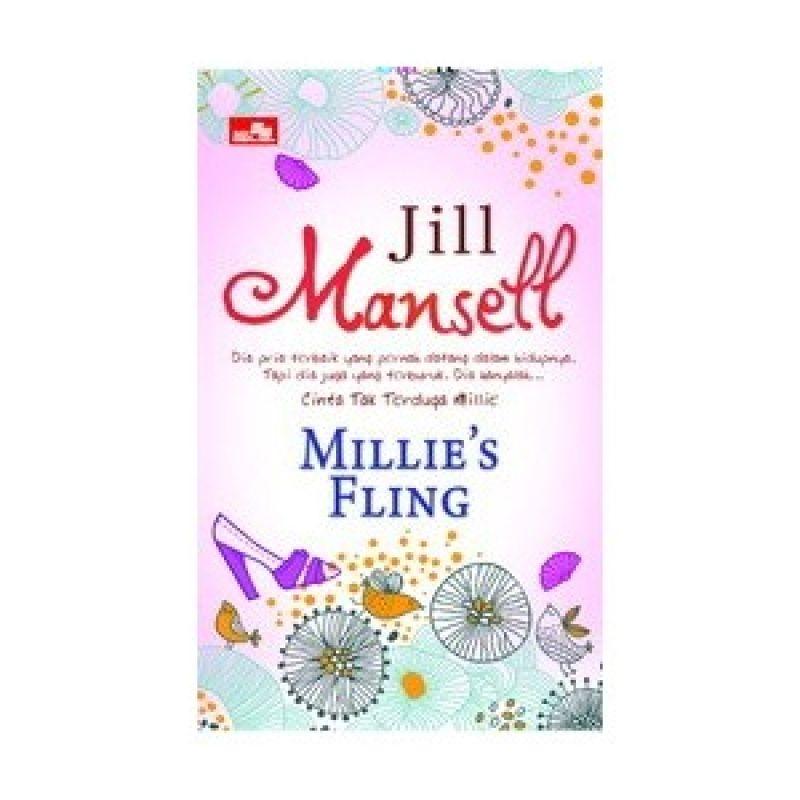 Grazera Millies Fling by Jill Mansell Buku Fiksi