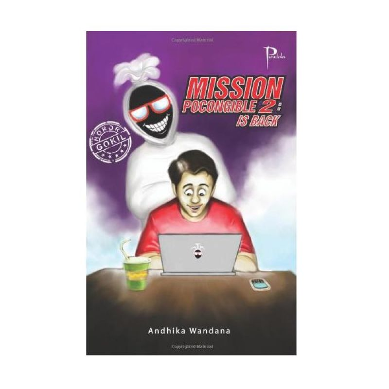 Grazera Mission Pocongible 2 by Andhika Wandana Buku Fiksi