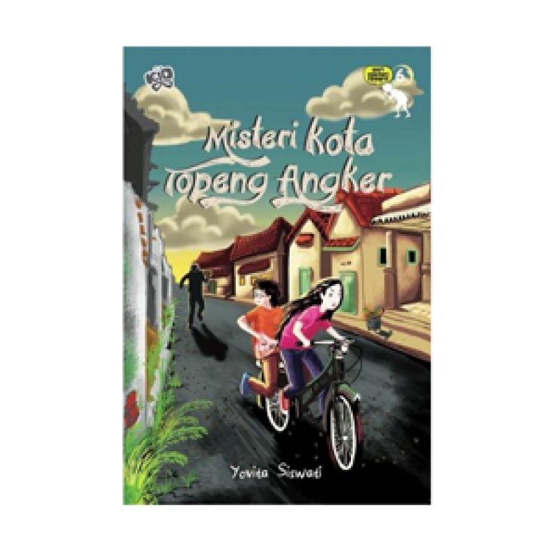 Grazera Misteri Kota Penari Topeng by Yovita Siswati Buku Fiksi