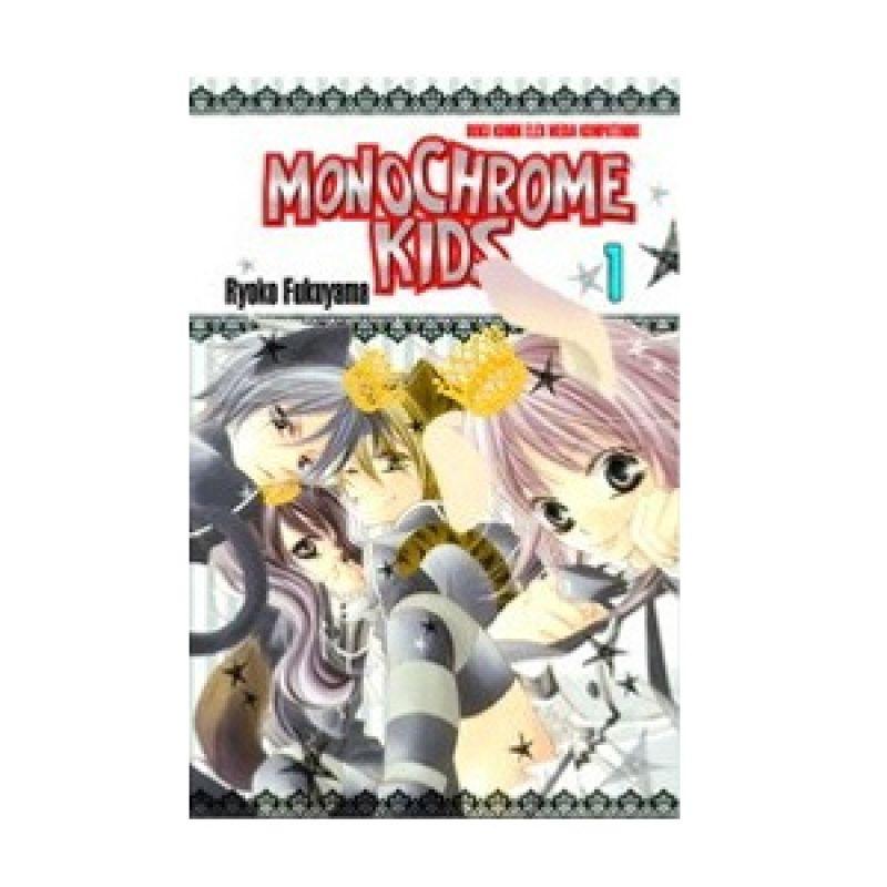Grazera Monochrome Kids Vol. 01 by Ryoko Fukuyama Buku Komik