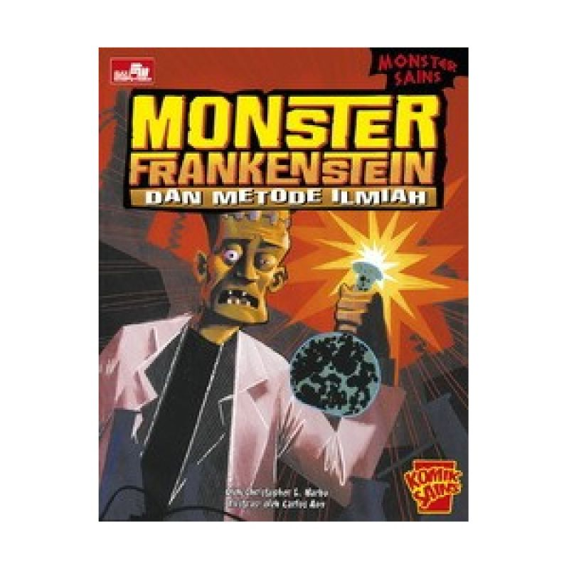 Grazera Monster Sains Monster Frankenstein & Metode Ilmia by Christopher L. Harbo Buku Komik