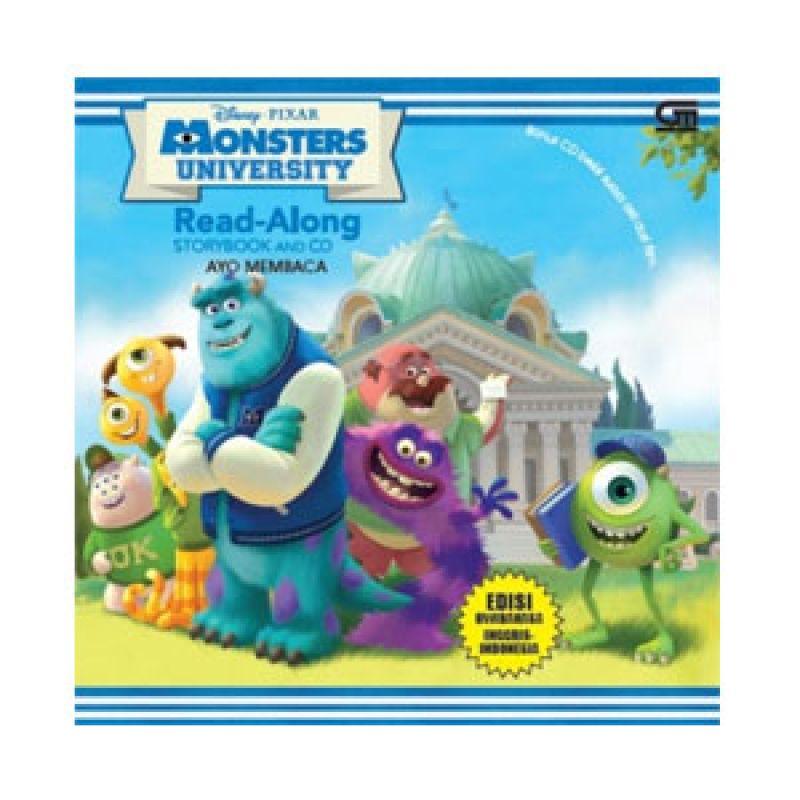 Grazera Monster University by Disney Buku Fiksi