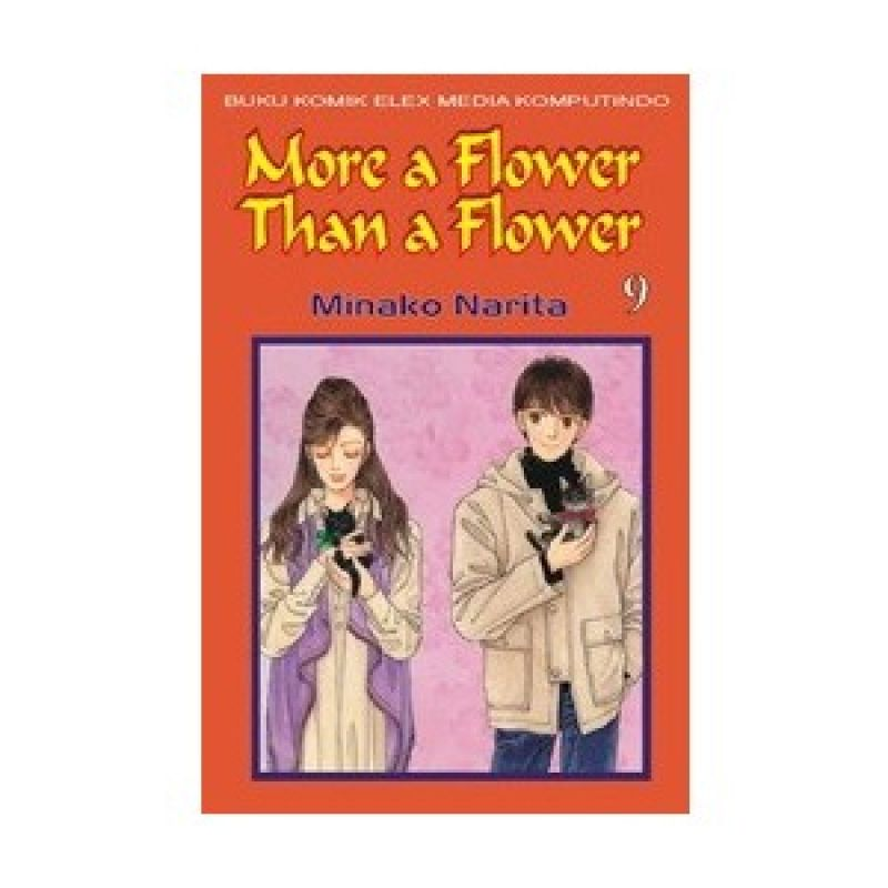 Grazera More A Flower Than A Flower Vol 09 By Minako Narita Buku Komik