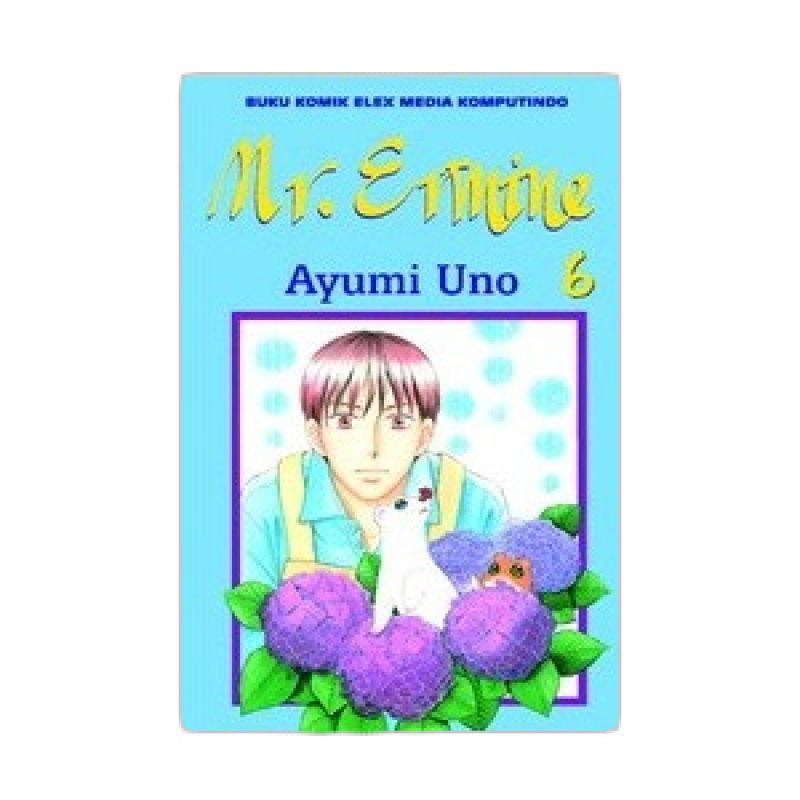 Grazera Mr. Ermine Vol 06 by Ayumi Uno Buku Komik