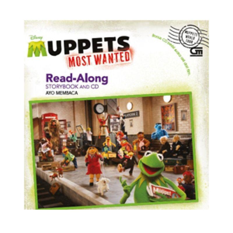 Grazera Muppets Most Wanted by Disney Buku Fiksi