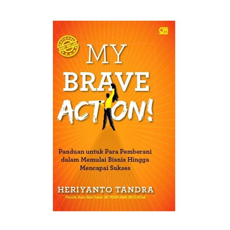 Grazera My Brave Action! oleh Heriyanto Tandra Buku Motivasi [Hard Cover]