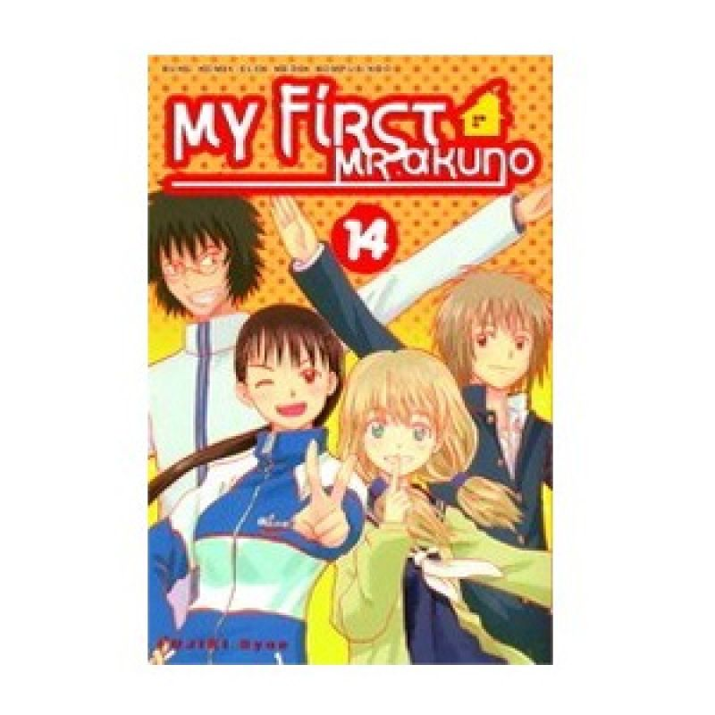 Grazera My First Mr. Akuno Vol 14 by Fujiki Syun Buku Komik