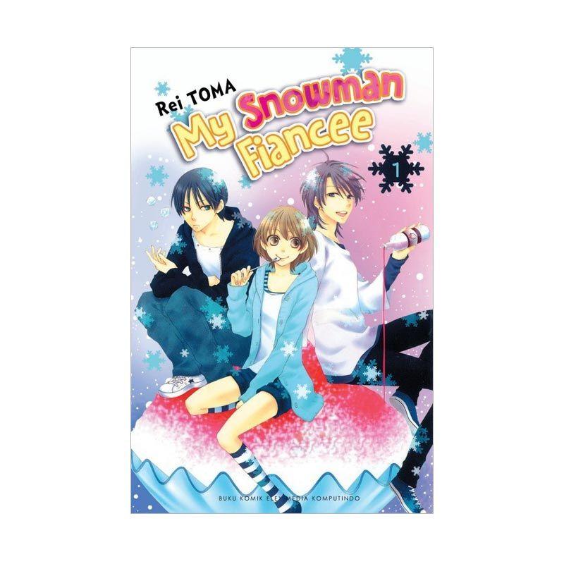 Grazera My Snowman Fiancee Vol. 01 By Rei Toma Buku Komik
