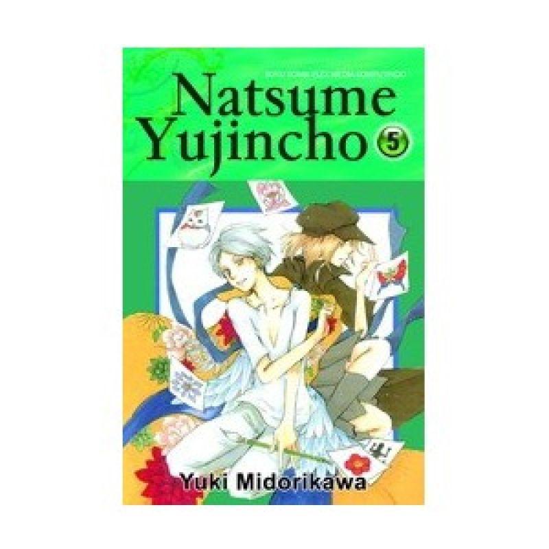 Grazera Natsume Yujincho Vol 05 by Yuki Midorikawa Buku Komik