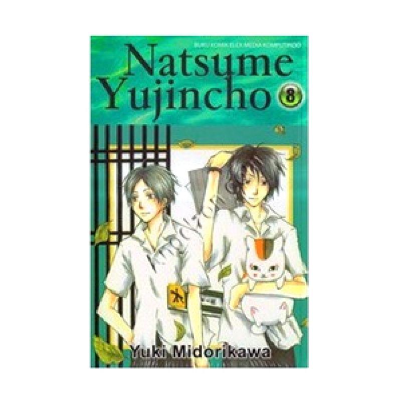 Grazera Natsume Yujincho Vol 08 by Yuki Midorikawa Buku Komik