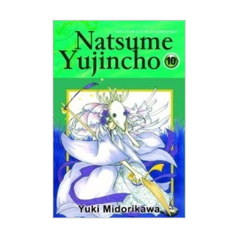 Grazera Natsume Yujincho Vol 10 by Yuki Midorikawa Buku Komik