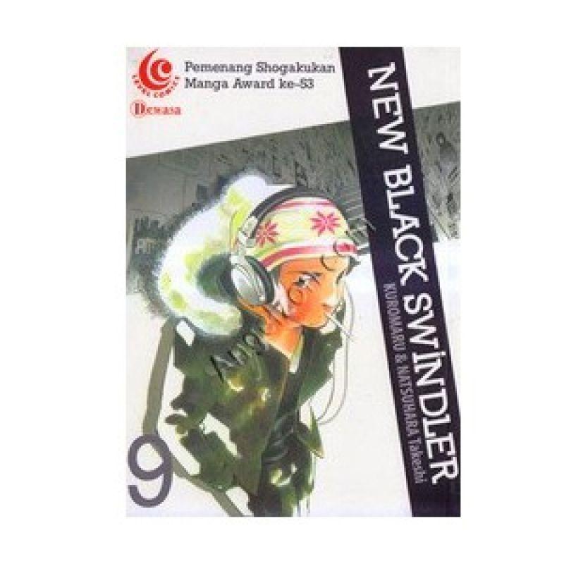 Grazera New Black Swindler Vol 09 By Kuromaru Buku Komik
