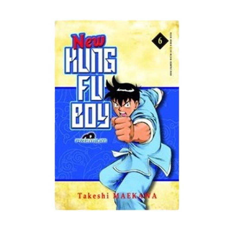 Grazera New Kungfu Boy 06 (premium) by Takeshi Maekawa Buku Komik