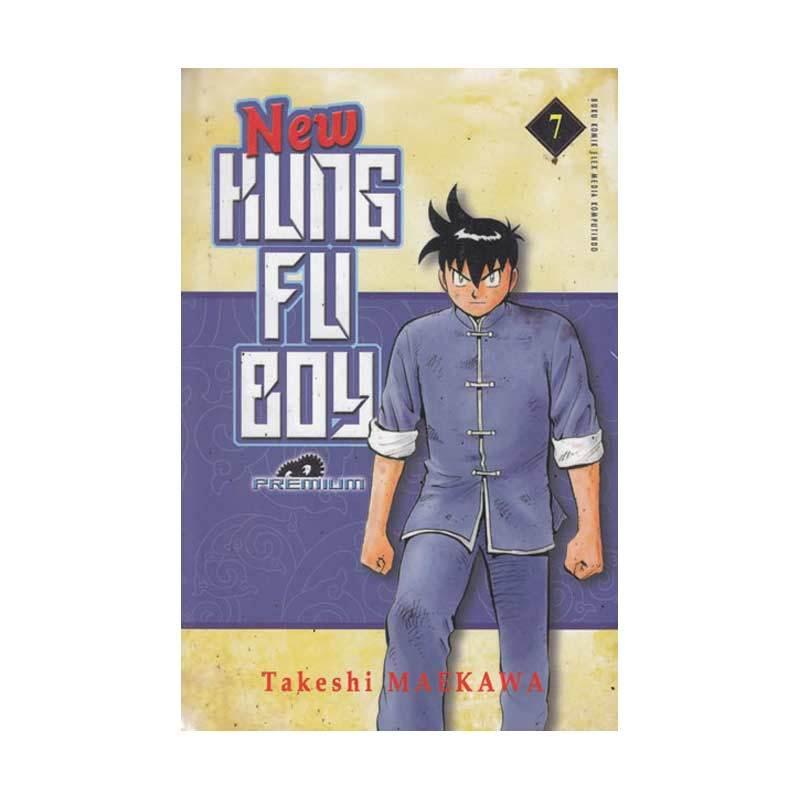 Grazera New Kungfu Boy (premium) 07 by Takeshi Maekawa Buku Komik
