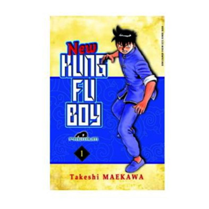 Grazera New KungFu Boy Vol 01 [Premium] by Takeshi Maekawa Buku Komik