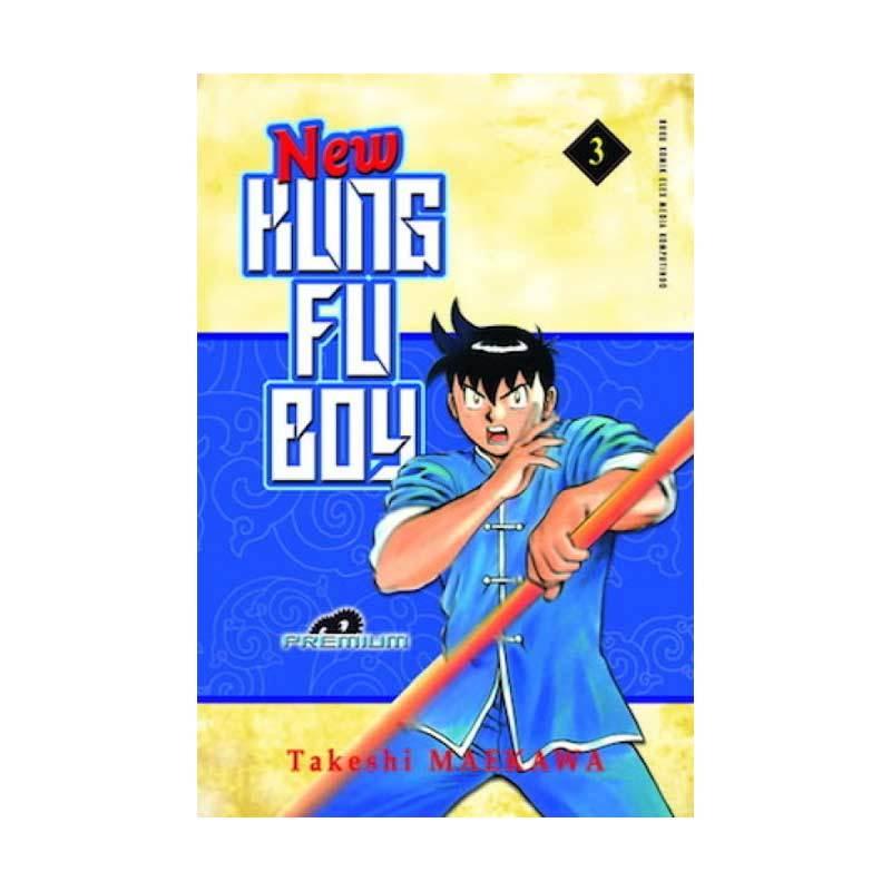 Grazera New Kungfu Boy Vol 03 by Takeshi Maekawa Buku Komik [Premium]