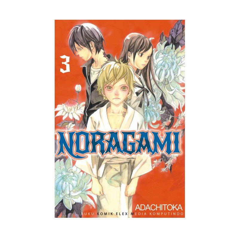 Grazera Noragami Vol. 03 By Adachitoka Buku Komik
