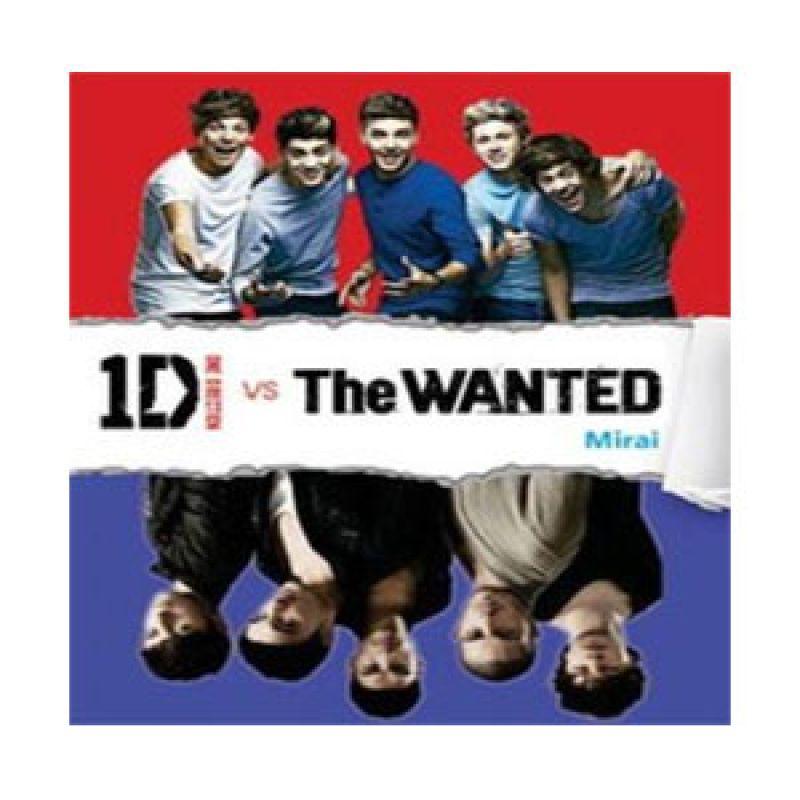 Grazera One Direction Vs The Wanted by Mirai Buku Fiksi