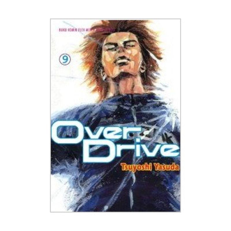 Grazera Over Drive Vol 09 by Tsuyoshi Yasuda Buku Komik