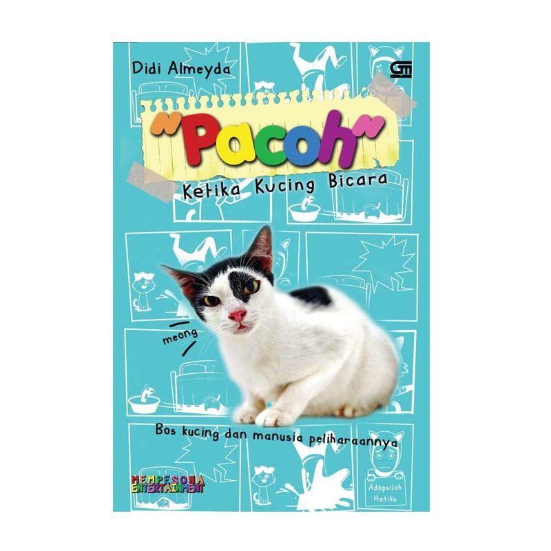 Grazera Pacoh Ketika Kucing Bicara by Didi Almeyda Buku Fiksi