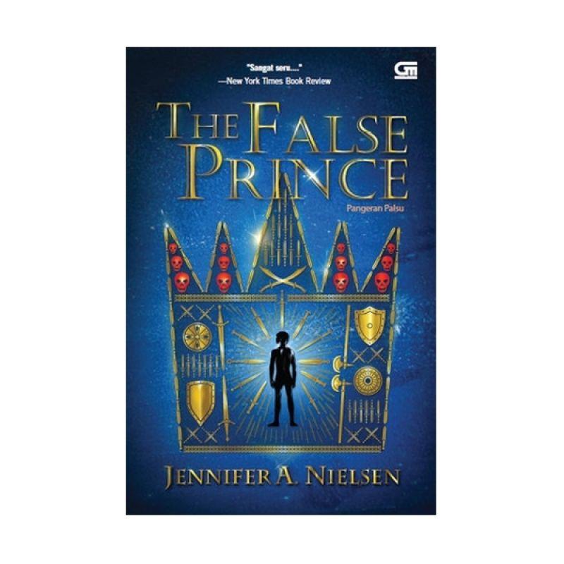 Grazera Pangeran Palsu by Jennifer A. Nielsen Buku Fiksi
