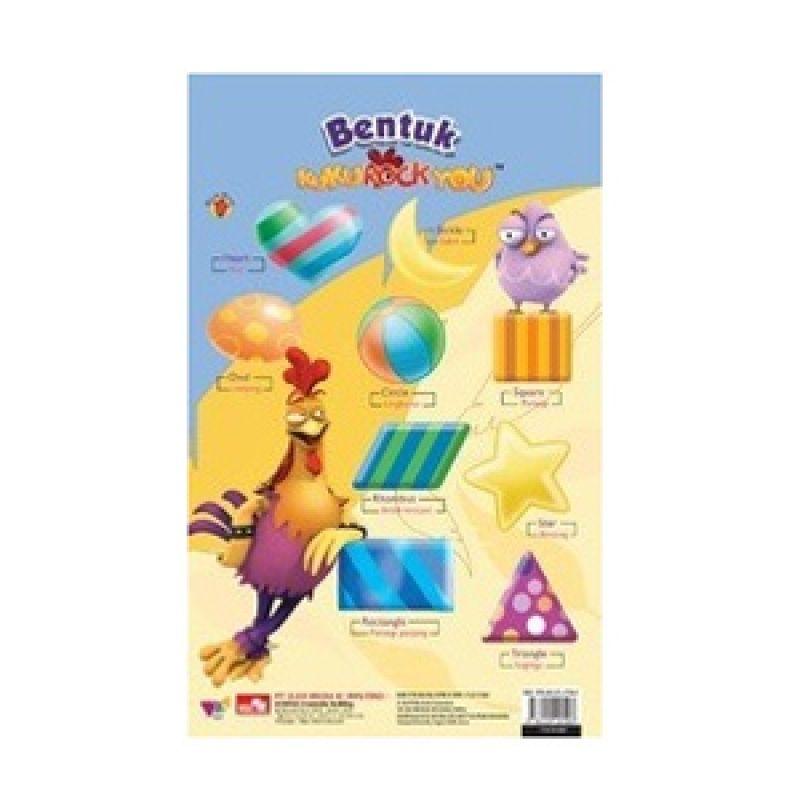 Grazera Poster Bentuk by Dgm Animation Buku Anak
