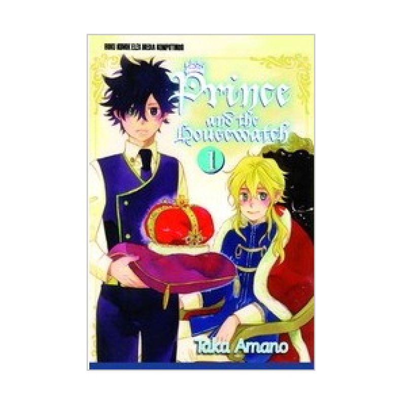 Grazera Prince And The Housewatch Vol 01 by Taka Amano Buku Komik