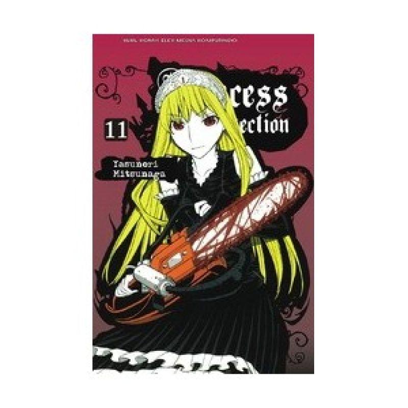 Grazera Princess Resurrection Vol 11 By Mitsunaga Yoshinori Buku Komik