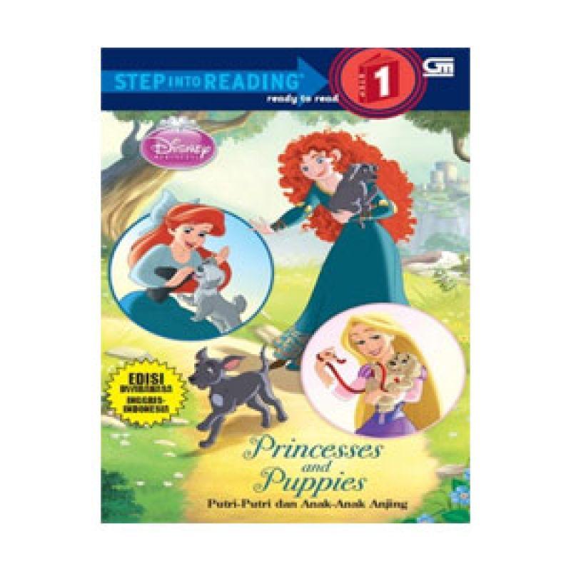 Grazera Princesses and Puppies by Disney Buku Fiksi